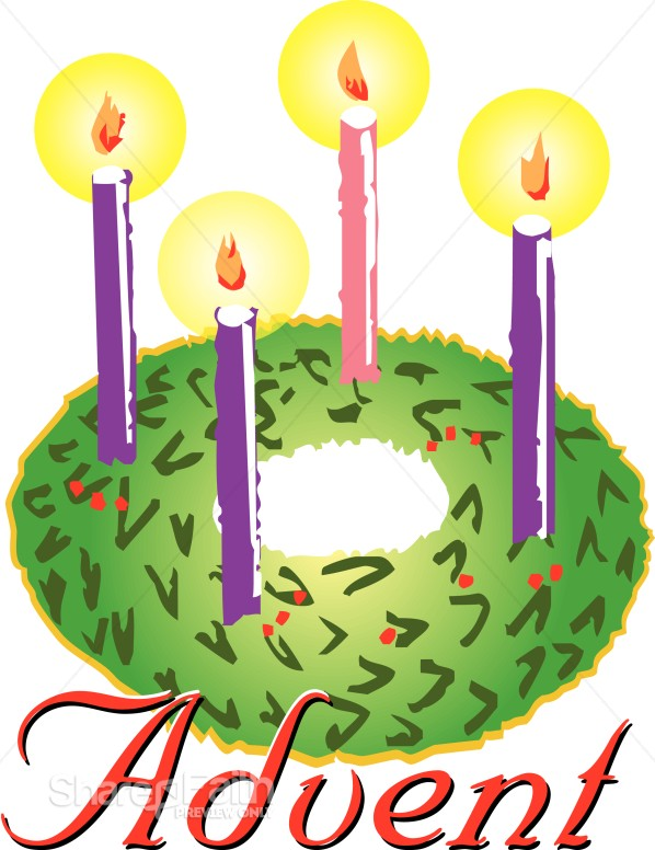 Free clipart advent candles png transparent library Advent Wreath Clipart | Advent Clipart png transparent library