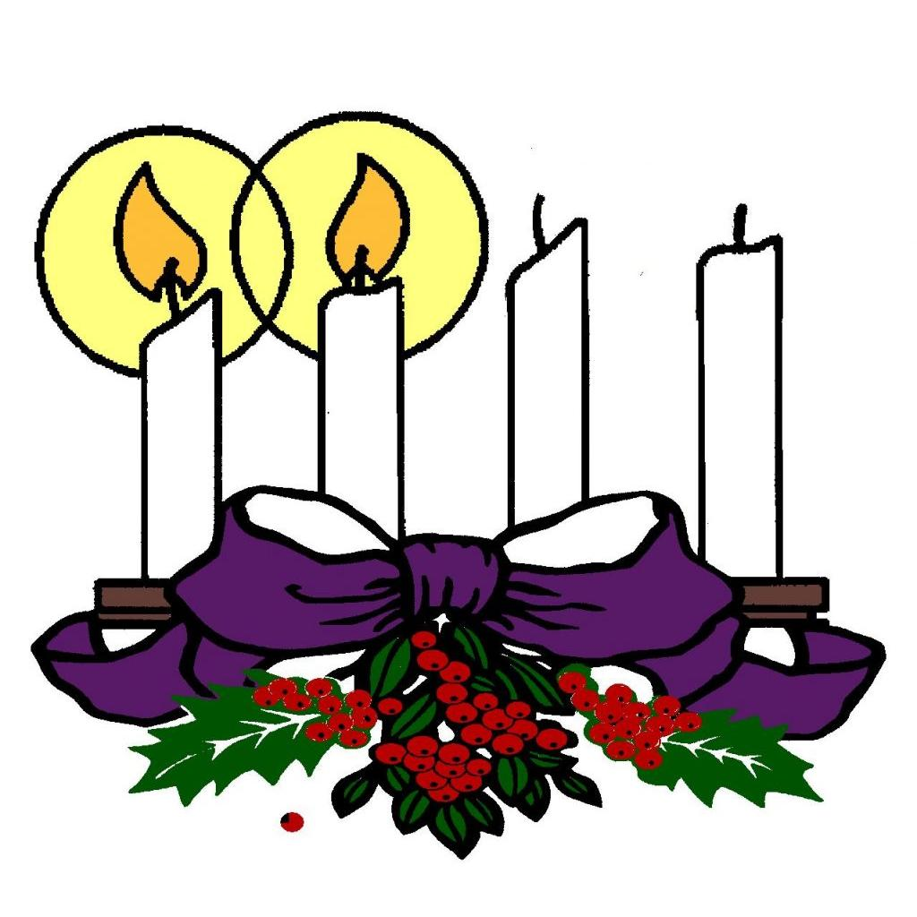 Advent decorations clipart svg library Advent – Diocesan svg library