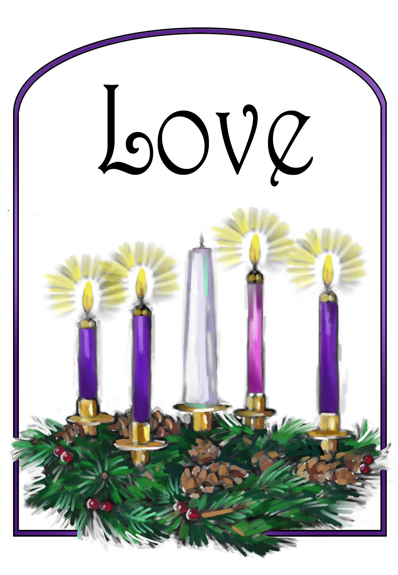 Advent season 2018 clipart image free stock Fourth Sunday in Advent – Presbytery of Cape Breton image free stock
