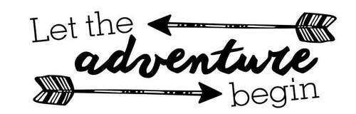 """Adventure begins clipart image black and white library 5th Grade End of School Year Events - """"Let the Adventure Begin!"""" image black and white library"""