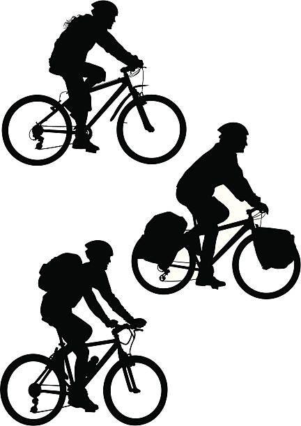 Adventure bike clipart download Mountain Bike vector art illustration   desain logo sepeda   Sepeda ... download