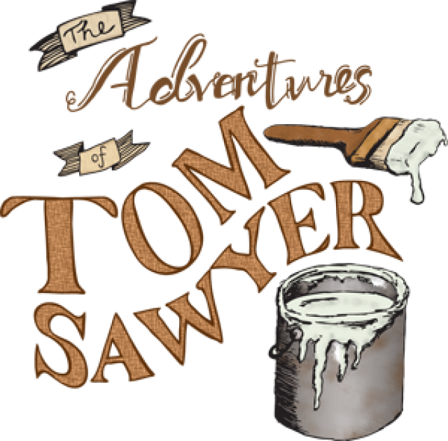 Adventure book clipart vector transparent stock The Adventures of Tom Sawyer by Mark Twain - Visit Aiken SC vector transparent stock