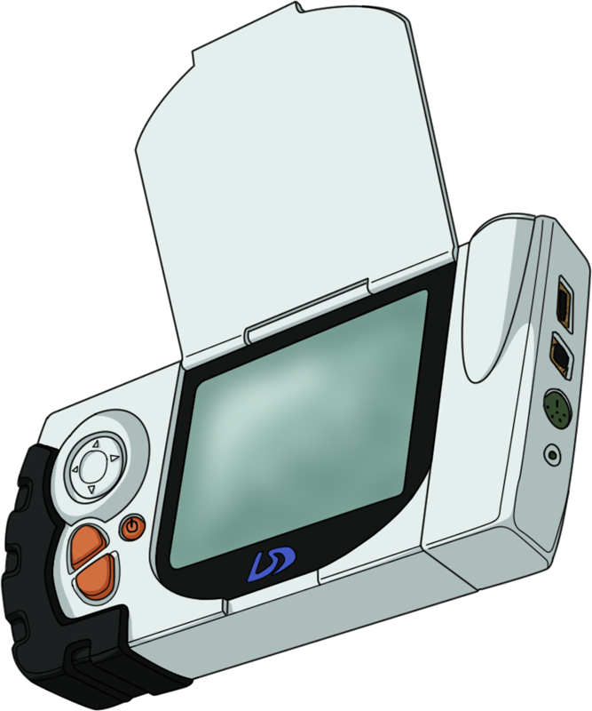 Adventure book clipart picture freeuse stock Digimon Adventure 02 - D-Terminal HD by NelaNequin on DeviantArt picture freeuse stock