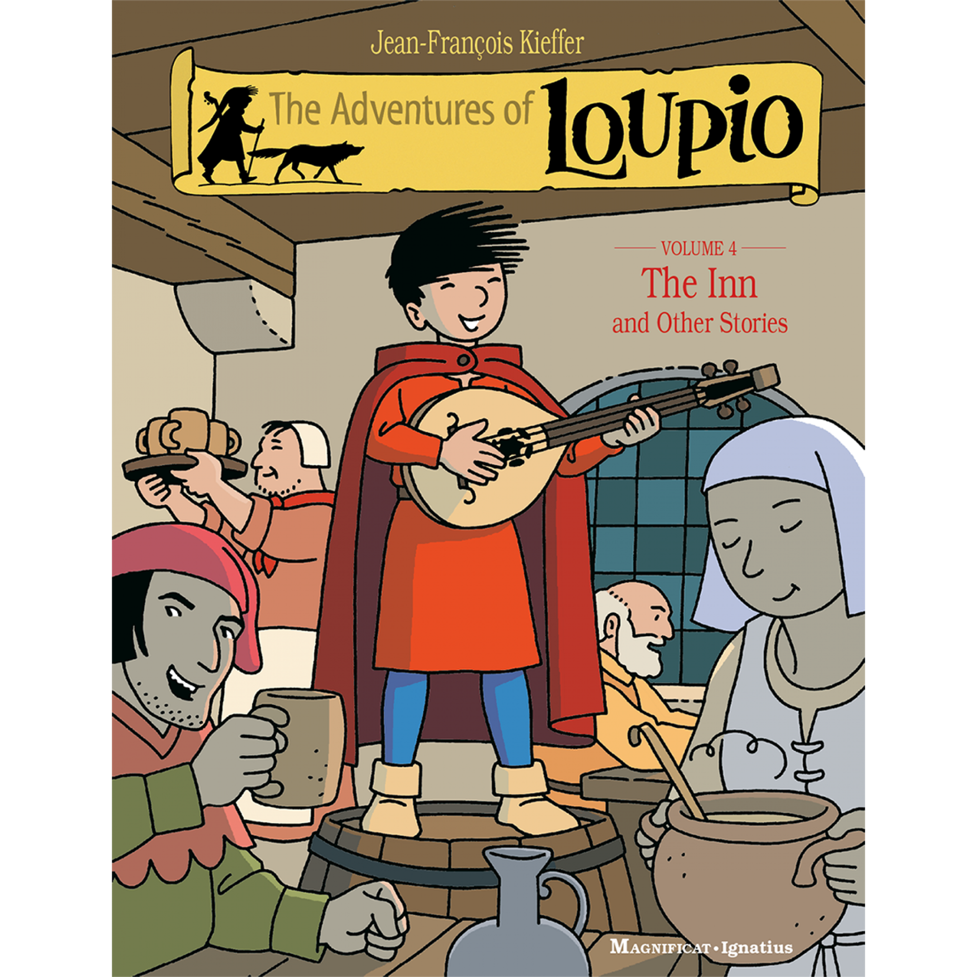 Adventure book from up clipart vector library library Magnificat The Adventure of Loupio T4 vector library library