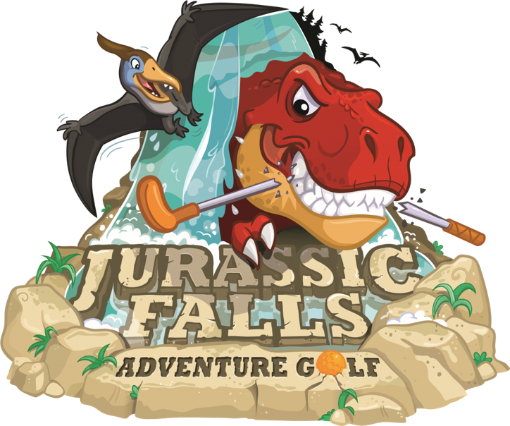 Adventure book from up clipart png library Jurassic Falls Adventure Golf **Save up to 20%** - On The Go Kids png library