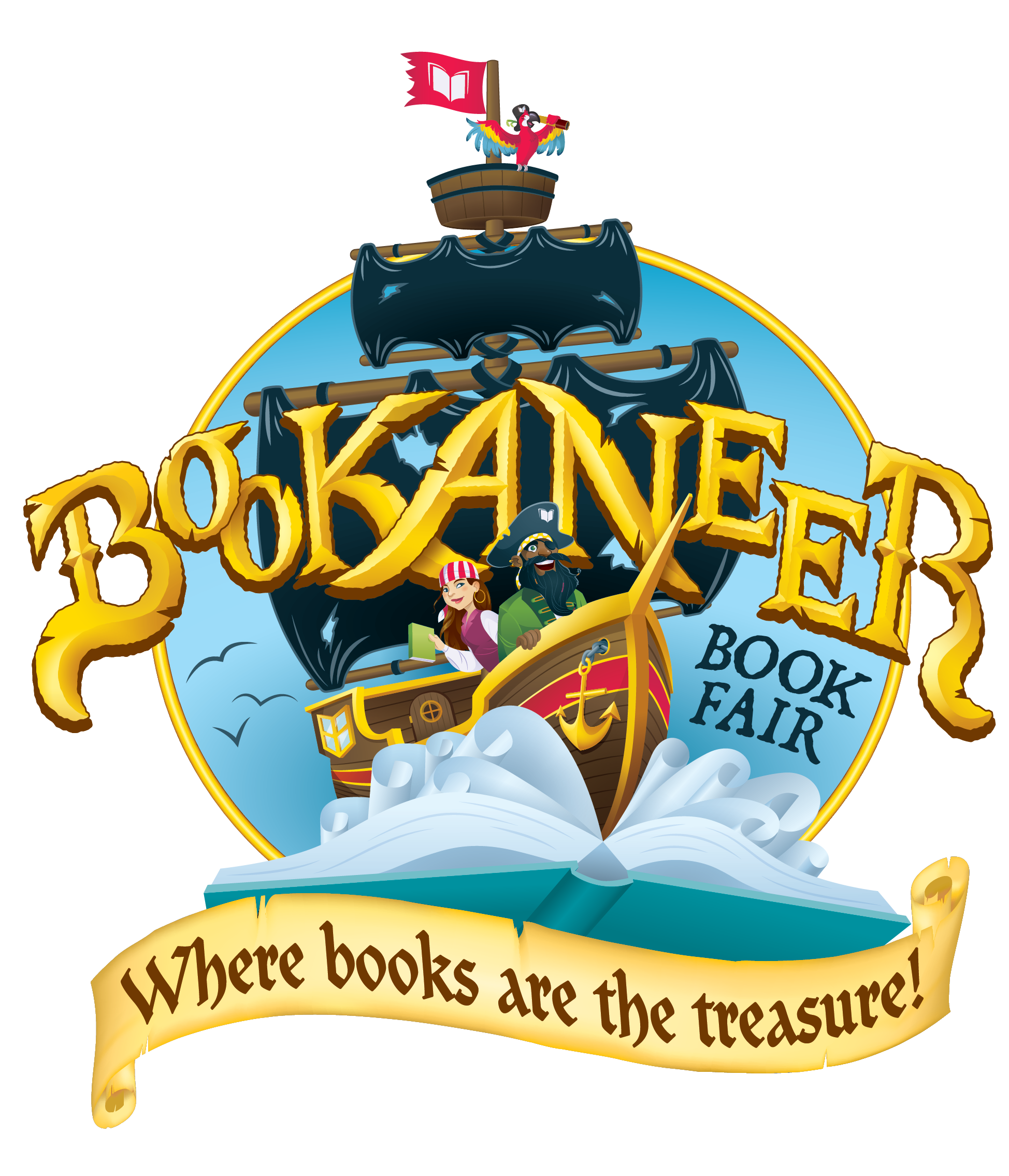 Scholastic book fair clipart picture royalty free download Bookaneer Book Fair: Where Books are the Treasure! | Scholastic Book ... picture royalty free download