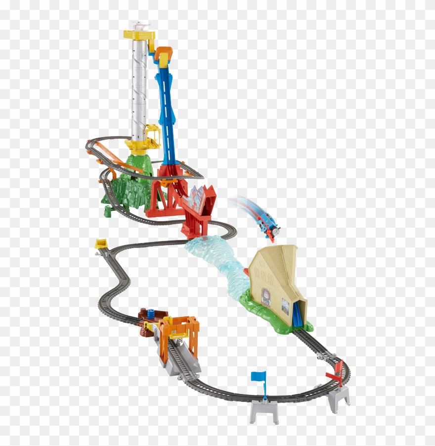 Adventure bridge clipart banner freeuse library Thomas & Friends Trackmaster Sky-high Bridge Jump - Thomas & Friends ... banner freeuse library