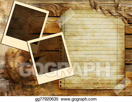 Adventure clipart background image free library Stock Illustration - Old adventure background. Clipart Illustrations ... image free library