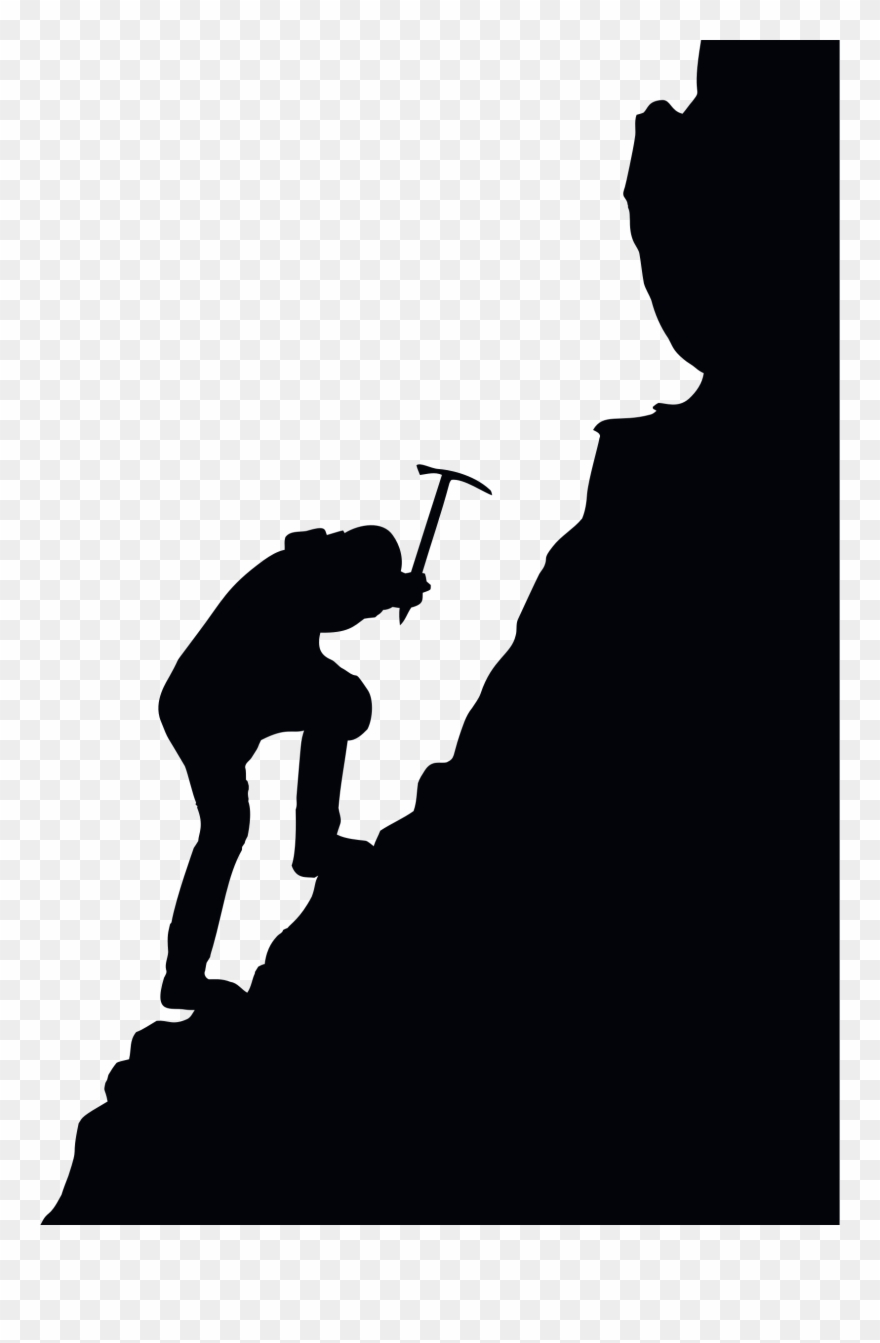 Adventure clipart sihlouette image freeuse library Download Mountaineering Silhouette Clipart Climbing - Mountaineering ... image freeuse library
