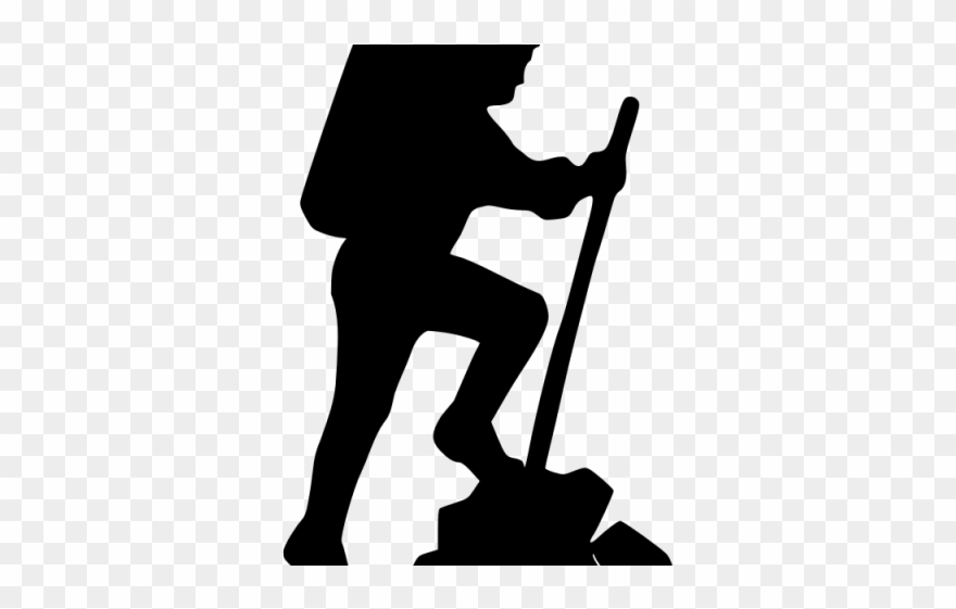 Adventure icon clipart picture free stock Adventure Clipart Silhouette - Hiker Icon - Png Download (#1001490 ... picture free stock