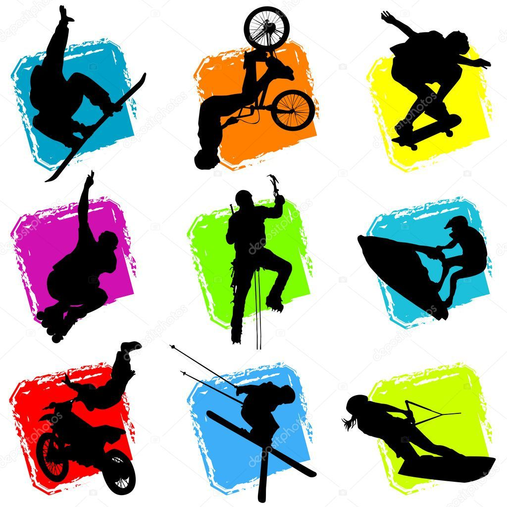 Adventure sports clipart image black and white library Adventure sports clipart 8 » Clipart Portal image black and white library