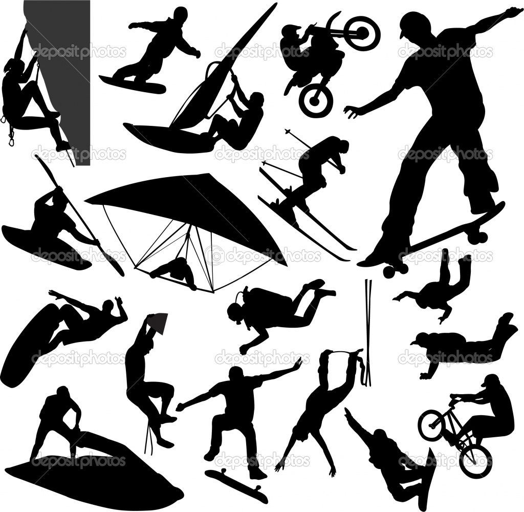 Adventure sports clipart svg black and white download Adventure sports clipart 9 » Clipart Portal svg black and white download