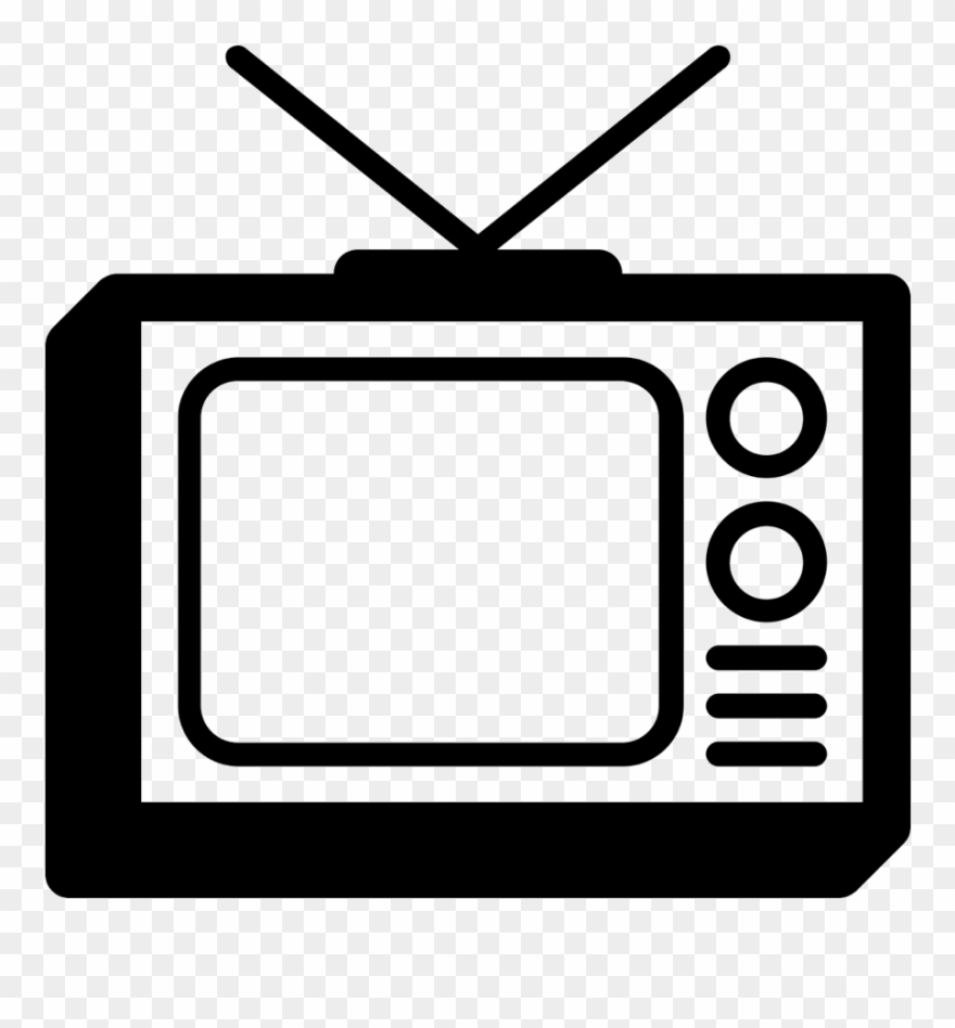 Tvs clipart svg library library Media Clipart Tv Advertisement 1 Clip Art - Tv Radio Icon Png ... svg library library