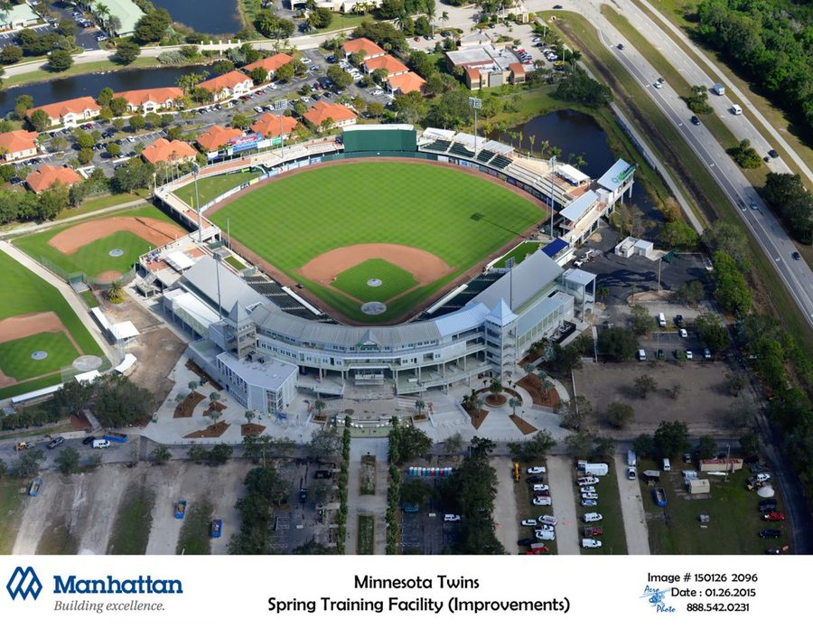 Aerial grass clipart vector freeuse Download aerial photography clipart Hammond Stadium Minnesota Twins ... vector freeuse