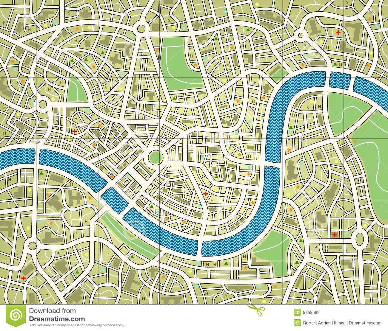 Aerial view paper clipart clip kids+road+map+clipart | law and order: fairy tale unit | Map vector ... clip