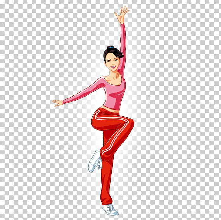 Aerobic dance clipart black and white stock Step Aerobics Physical Fitness PNG, Clipart, Aerobic, Aerobic Dance ... black and white stock