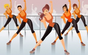 Aerobic dance clipart vector library Free Aerobics Class Cliparts, Download Free Clip Art, Free Clip Art ... vector library
