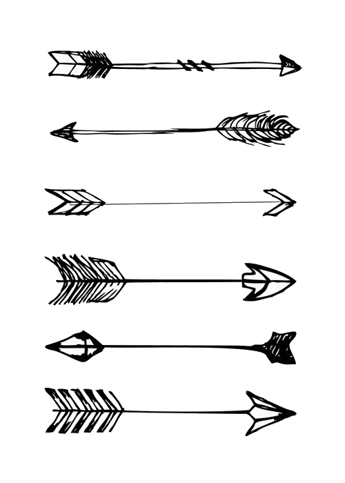 Aesthetic bow and arrow clipart image royalty free stock Arrow aesthetic clipart images gallery for free download | MyReal ... image royalty free stock