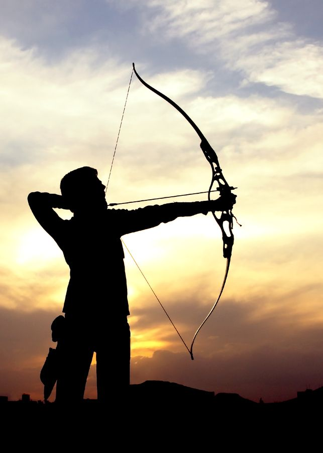Aesthetic bow and arrow clipart image freeuse library Archer | LoS aims at | Pinterest | Archery, Archer and Archery aesthetic image freeuse library