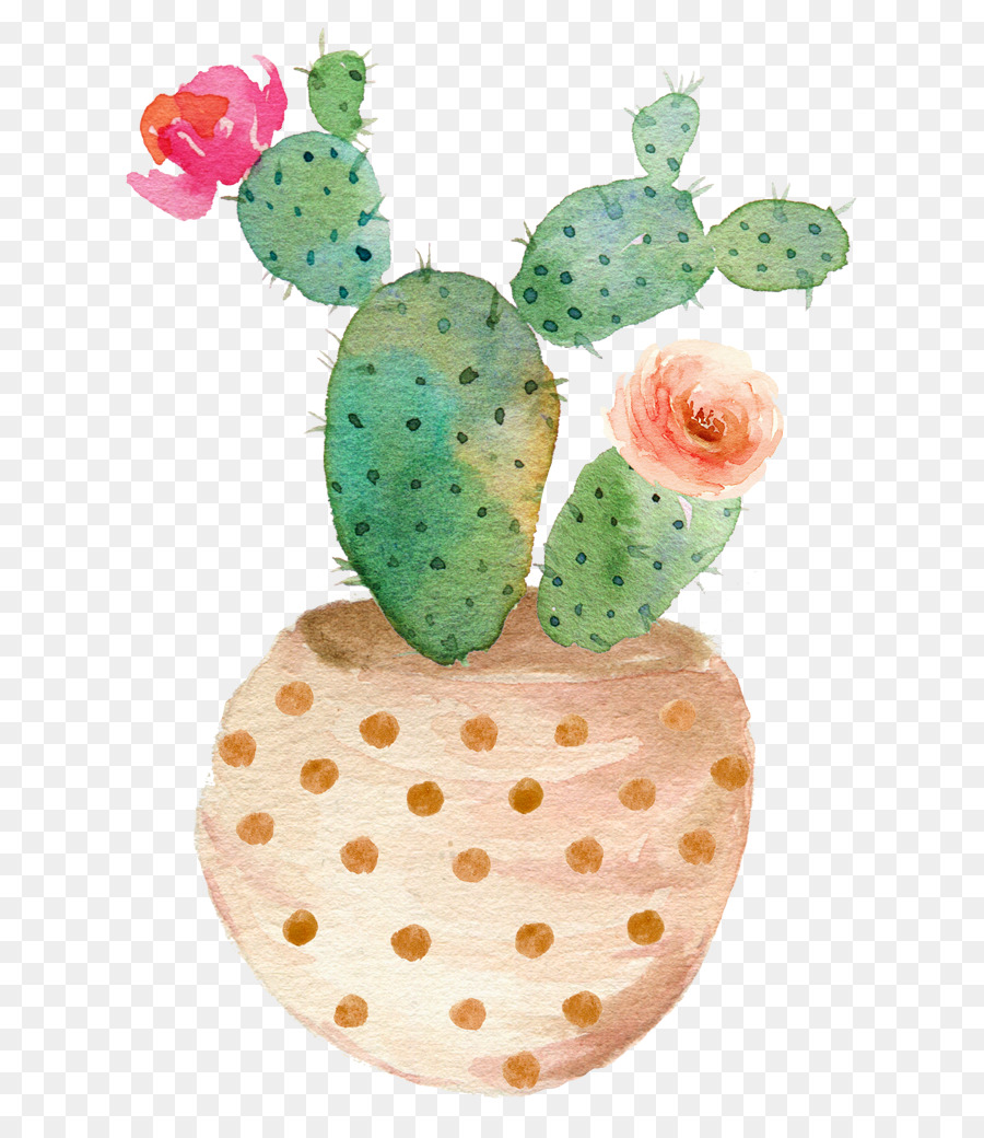Aesthetic cactus clipart svg stock Watercolor Plant png download - 700*1022 - Free Transparent ... svg stock