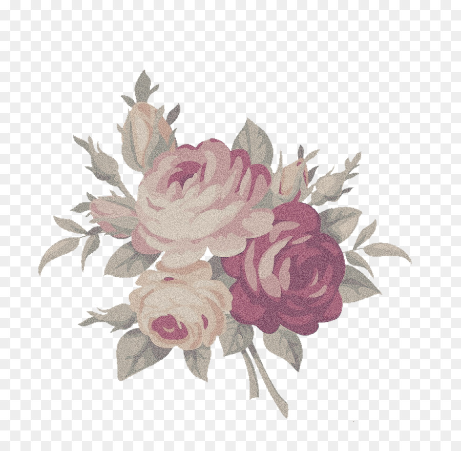 Aesthetic roses cliparts