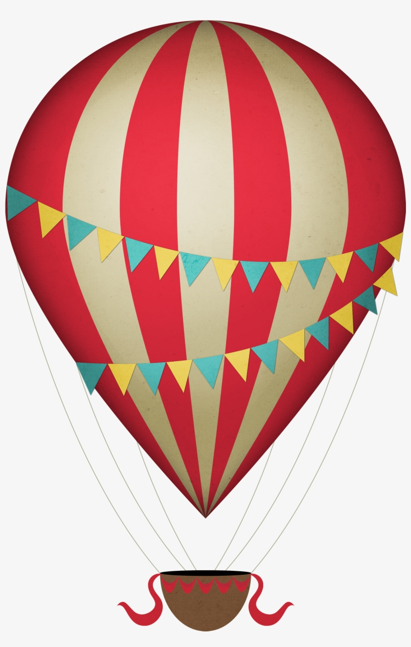 Aesthetic hot air balloon clipart picture library stock Drawn Hot Air Balloon Transparent - Vintage Hot Air Balloon Clipart ... picture library stock