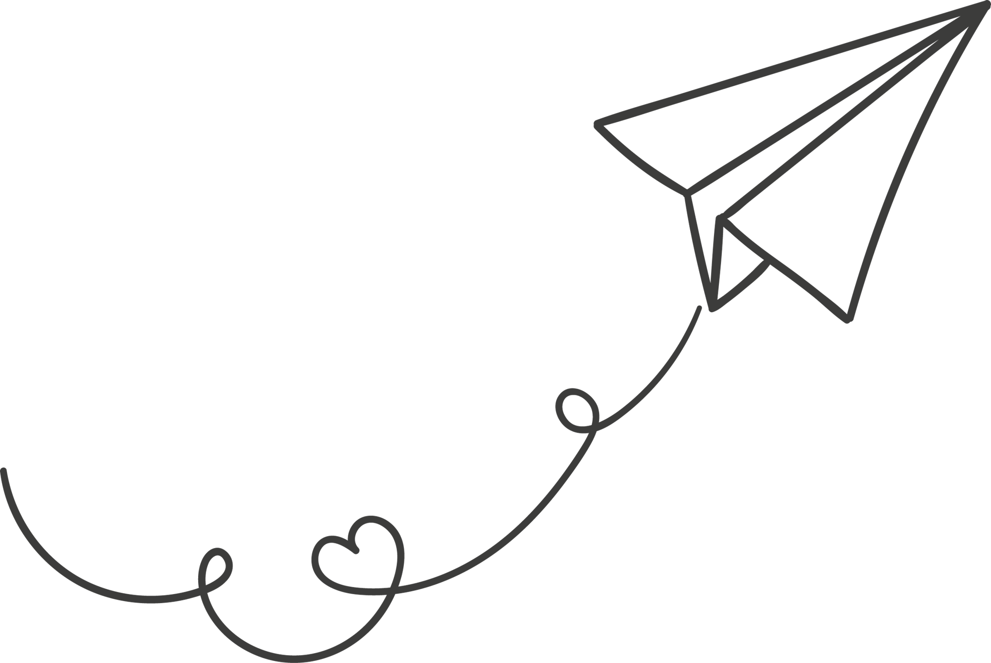 Airplane tracks clipart picture library library Pin by Udash on Clipart in 2019 | Paper plane, Paper plane tattoo ... picture library library