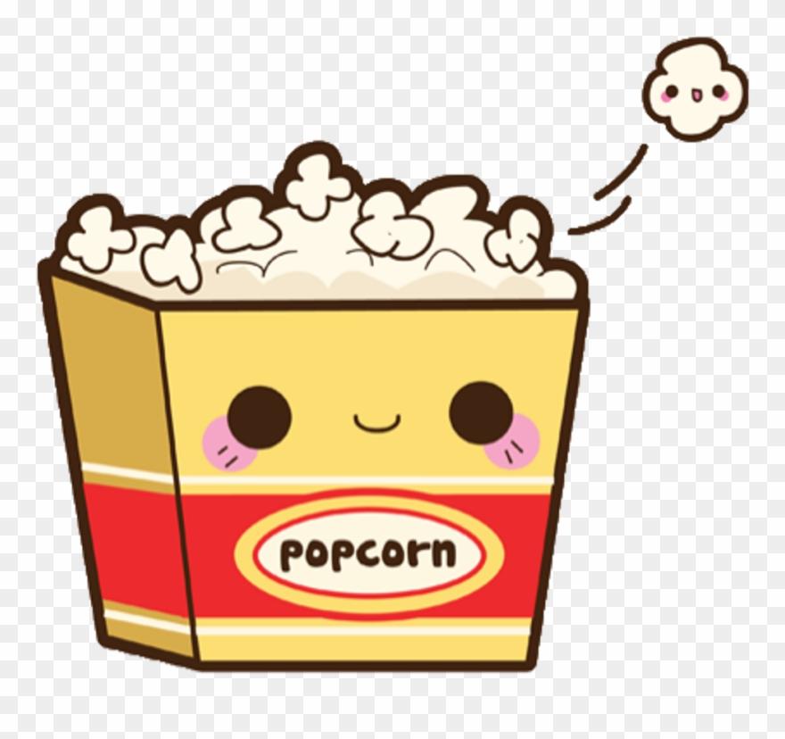 Aesthetic popcorn clipart picture transparent stock Cute Sticker - Kawaii Popcorn Clipart (#3414614) - PinClipart picture transparent stock