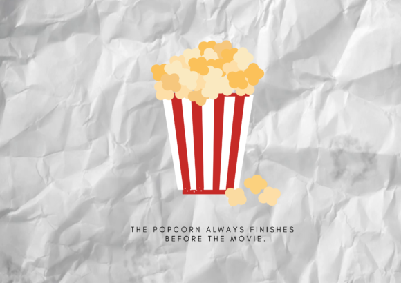Aesthetic popcorn clipart clip art black and white Aesthetic Popcorn clip art black and white
