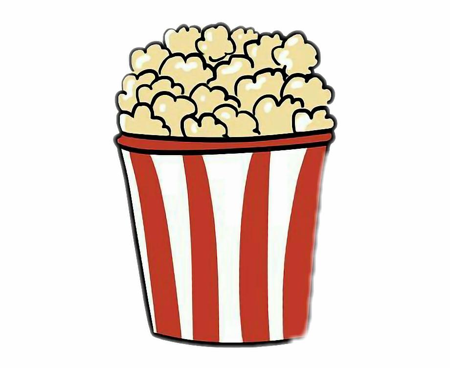 Aesthetic popcorn clipart clip transparent stock Clipart Wallpaper Blink - Popcorn Drawing {#3748870} - Pngtube clip transparent stock