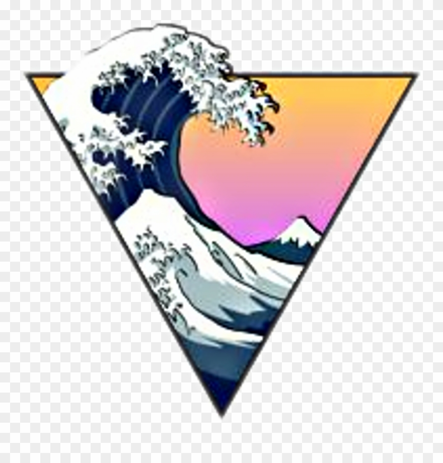 Aesthetic vibes clipart vibes png free library Asthetic Sticker Hipster Astheticvibes Vibes Waves - Wave Aesthetic ... png free library