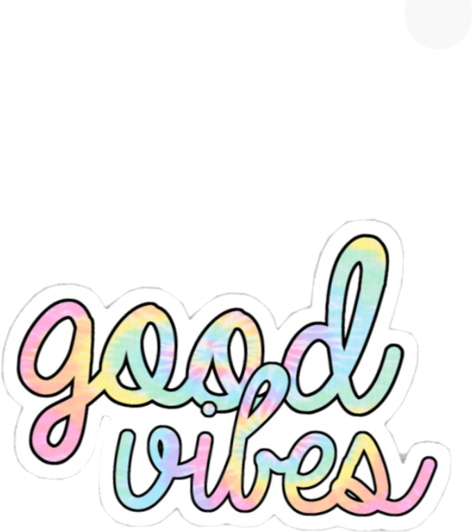Aesthetic vibes clipart vibes svg freeuse download cute #pretty #goodvibes #good #vibes #rainbow #tie - Cute Hologram ... svg freeuse download