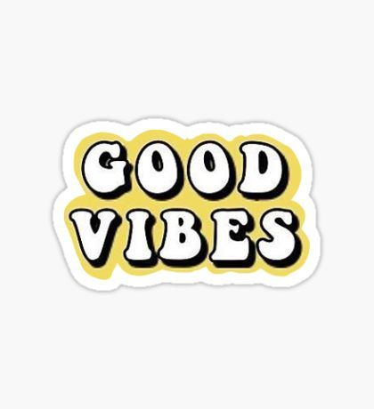 Aesthetic vibes clipart vibes clip art royalty free good vibes tumblr, aesthetic, yellow\' Sticker by maddie p | stickers ... clip art royalty free