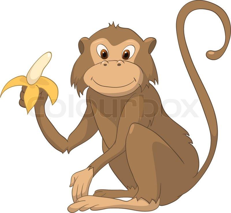 Affe clipart kostenlos. Clipartfest cartoon charakter auf