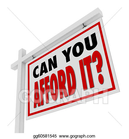 Afford clipart png transparent library Clipart - Can you afford it home for sale sign real estate. Stock ... png transparent library