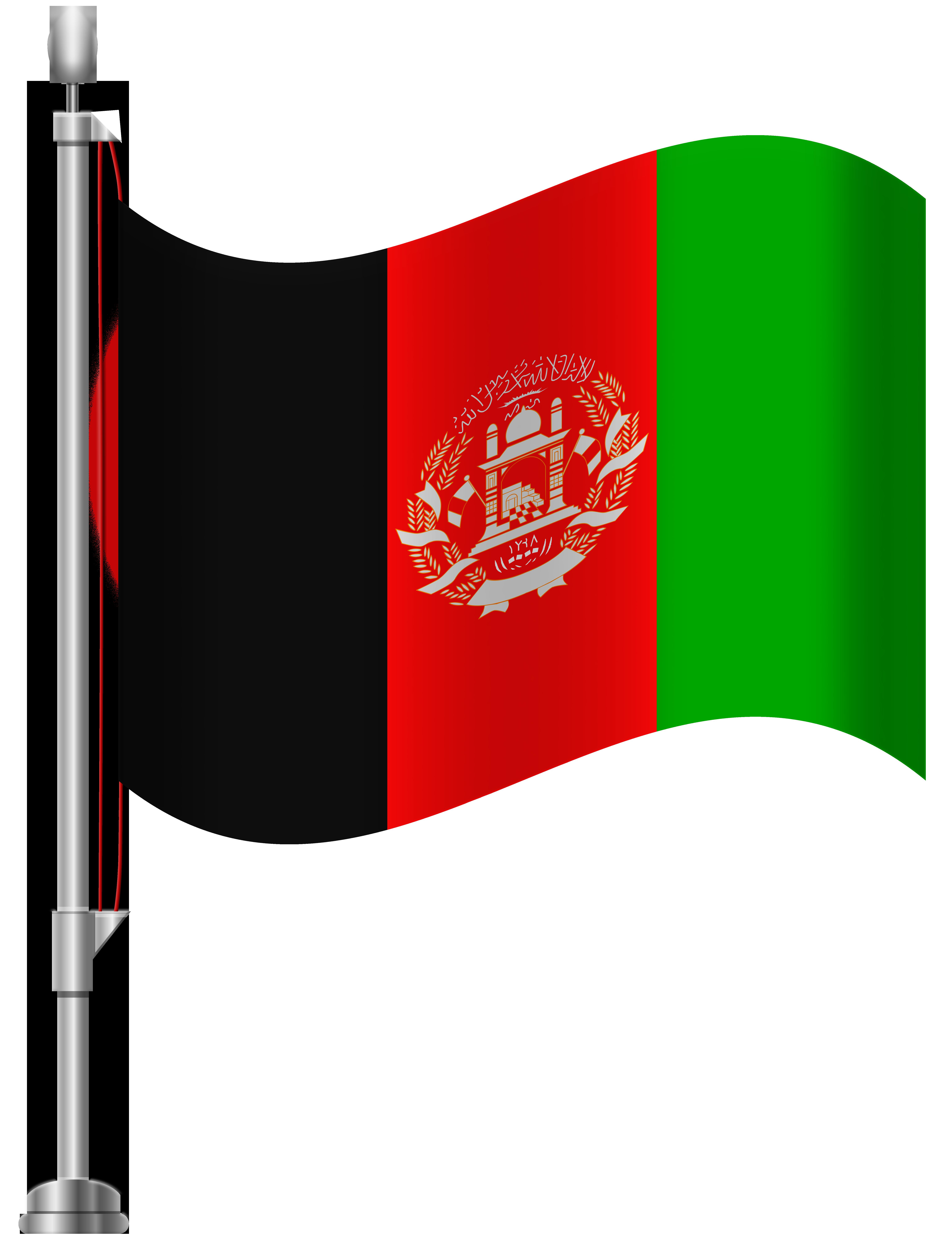 Afghanistan flag clipart clip art royalty free Afghanistan Flag PNG Clip Art - Best WEB Clipart clip art royalty free
