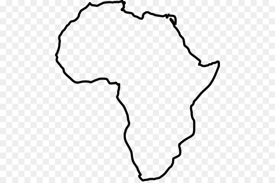 Africa black and white clipart clipart black and white stock Black Line Background png download - 540*595 - Free Transparent ... clipart black and white stock