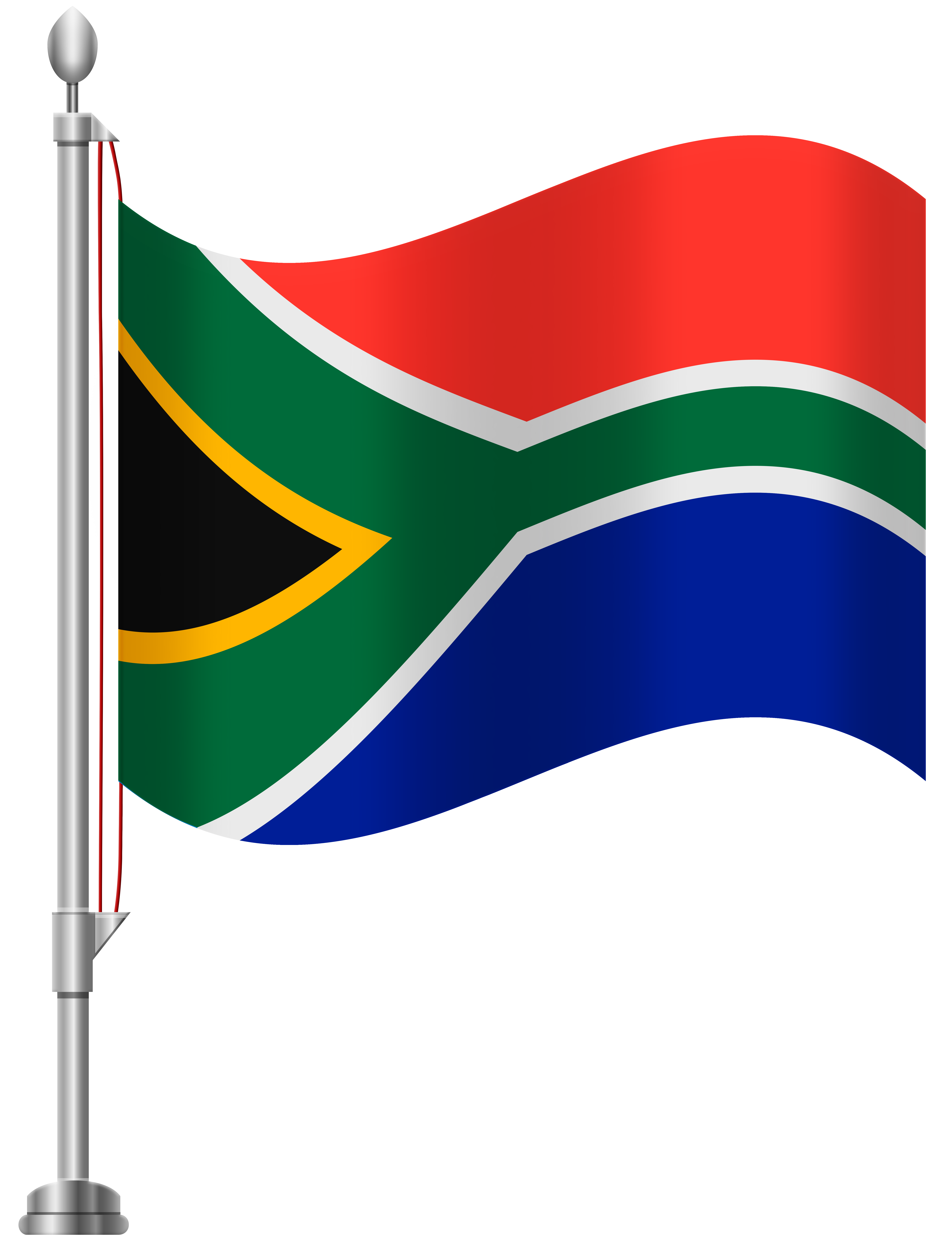Summer clipart images flags banner royalty free download South Africa Flag PNG Clip Art - Best WEB Clipart banner royalty free download