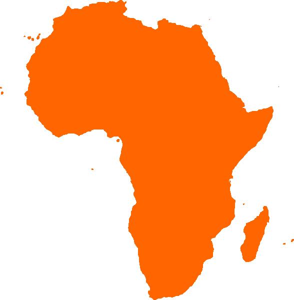 Africa clipart vector clip art library africa map continent | African Continent clip art - vector clip art ... clip art library