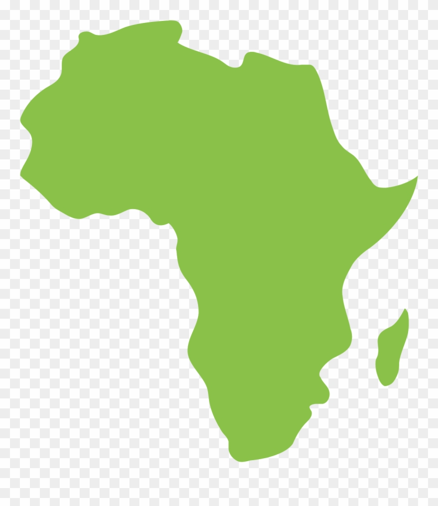 Africa clipart vector vector freeuse stock Vector Download Africa Transparent - Map Of Africa Png Clipart ... vector freeuse stock