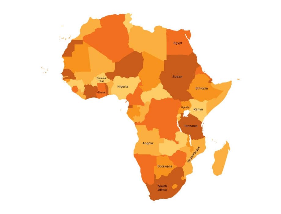 Africa clipart vector banner Africa - Africa Map Vector Png Free PNG Images & Clipart Download ... banner