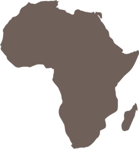 Africa clipart vector image library stock Africa Map clip art - vector clip art online, royalty free & public ... image library stock