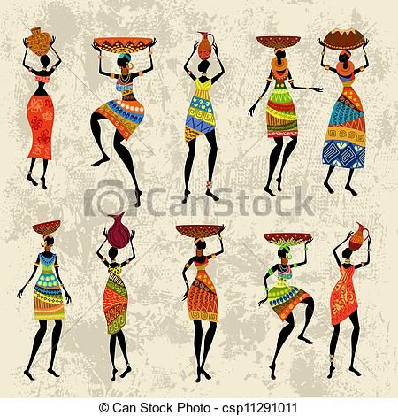 Tribal people clipart jpg library african tribal clipart - Google Search | art, Journaling in 2019 ... jpg library