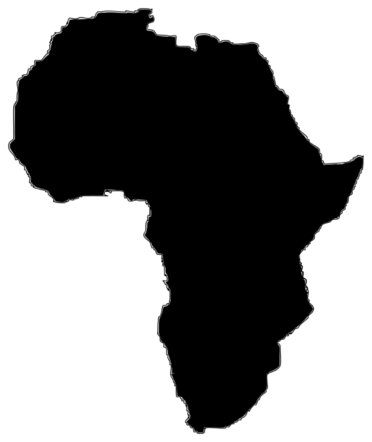 Africa logo clipart jpg black and white library Africa Clipart Group with 67+ items jpg black and white library
