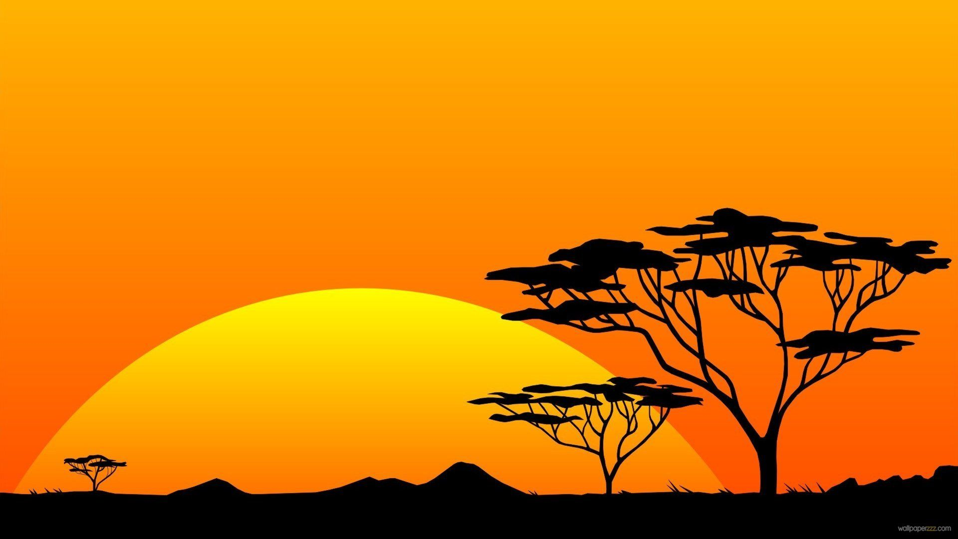 Africa savanas clipart clipart black and white stock 40+ African Savanna Sunset Wallpapers - Download at WallpaperBro clipart black and white stock