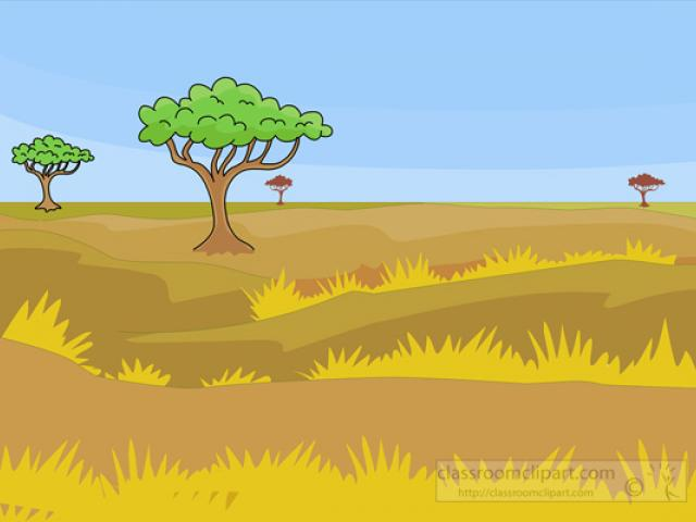 Africa savanas clipart vector royalty free download Free Savannah Clipart, Download Free Clip Art on Owips.com vector royalty free download