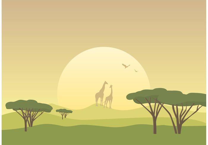 Tropical savanna clipart vector royalty free download Free Savanna Cliparts, Download Free Clip Art, Free Clip Art on ... vector royalty free download
