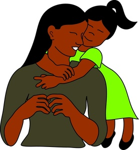 African mother daughter clipart image stock Collection of Daughter clipart | Free download best Daughter clipart ... image stock