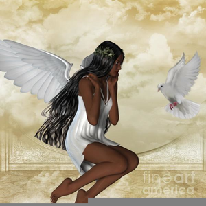 African american angel clipart free clip art freeuse stock African American Angels Clipart | Free Images at Clker.com - vector ... clip art freeuse stock