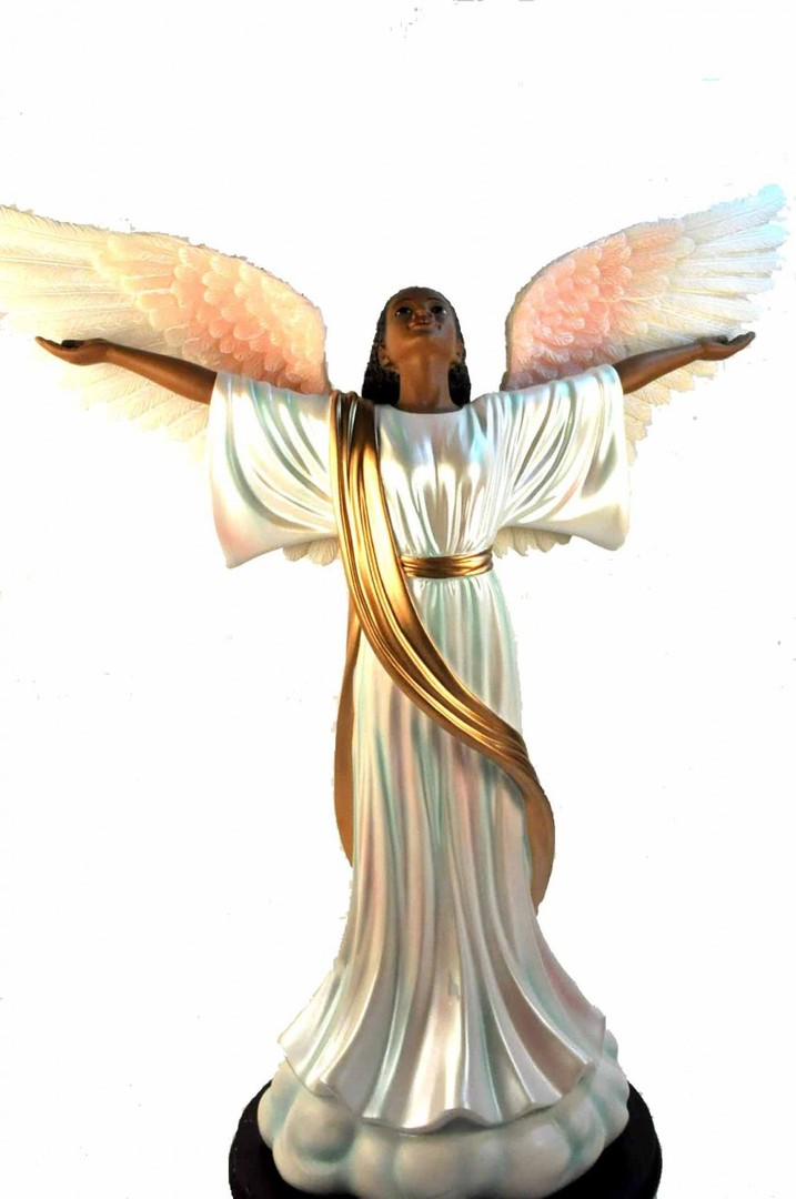 African american angel clipart free banner black and white download Free Pictures Of African American Angels, Download Free Clip Art ... banner black and white download